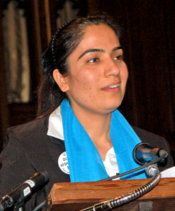 Malalai Joya in the USA