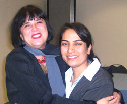 Malalai Joya and Eve Ensler